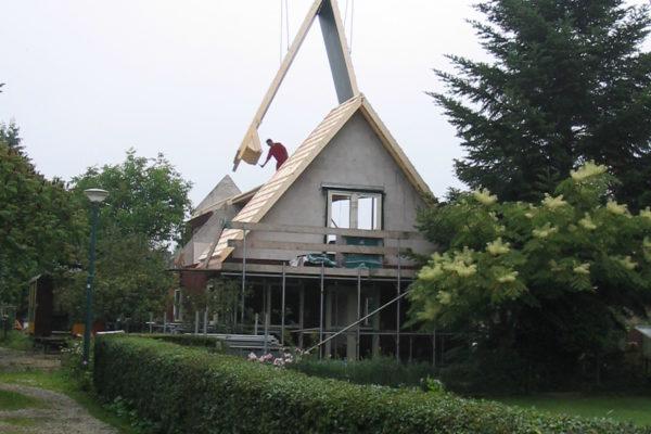 nieuwbouw kapconstructie 011